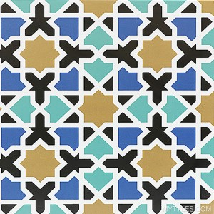 * 300x300mm Moroccan Tile - JM 961 FL