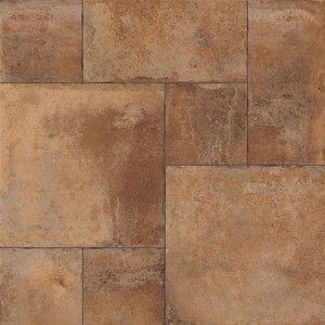1000x1000 mm Imported Designer Wall and Floor Tile - Adobe Siena Terra Modular