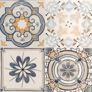* 600x600mm Moroccan Tile Antica (Random Design)