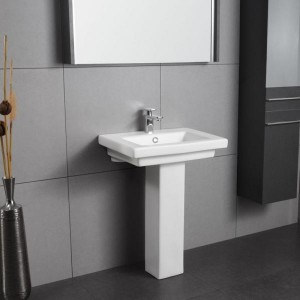 SONCERA FOURSQUARE - Basin with Pedestal