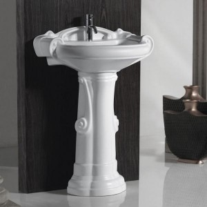 SONCERA DIAMOND - Basin with Pedestal