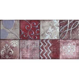 3rd Fired Decorated Ceramic Wall Tile Highlighter - CA141