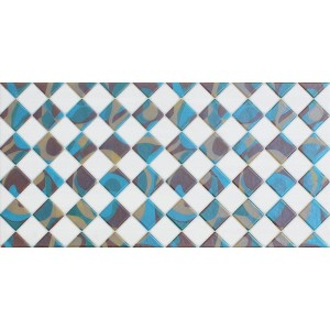 3rd Fired Decorated Ceramic Wall Tile Highlighter - CA142