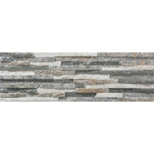 * New * 170x520 mm Imported Designer Wall Tile - Centenar Grey