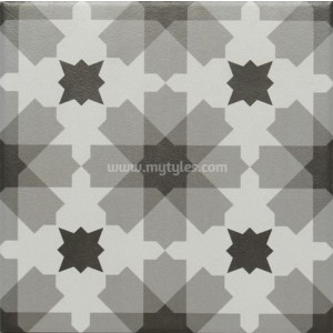 200x200mm Moroccan Tiles DR 02