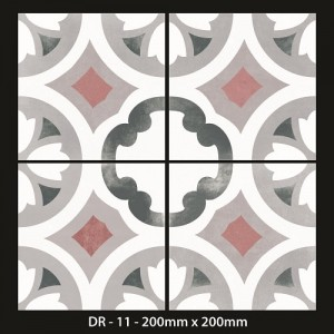 Moroccan Tiles 200x200mm -DR 11