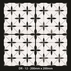 Moroccan Tiles 200x200mm -DR 12