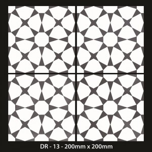 Moroccan Tiles 200x200mm -DR 13