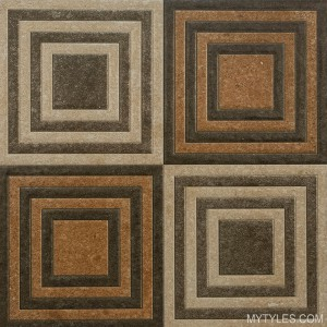 Digital Vitrified Floor Tile LC 501 400x400 mm (Parking)