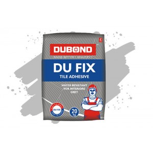 DUBOND Tile Adhesive - 20 Kg Pack (Roff Cement) GREY
