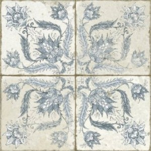 450x450 mm Imported Designer Wall And Floor Tile - Fs Ivy Blue