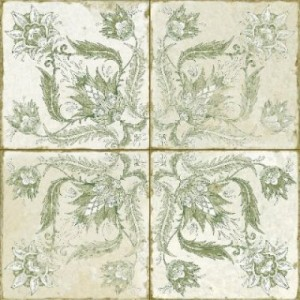 450x450 mm Imported Designer Wall And Floor Tile - Fs Ivy Sage