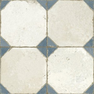 450x450 mm Imported Designer Wall And Floor Tile -Fs Yard Blue