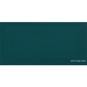 * 100x200mm Ceramic Wall Tile - Aqua Blue (Subway Tile)