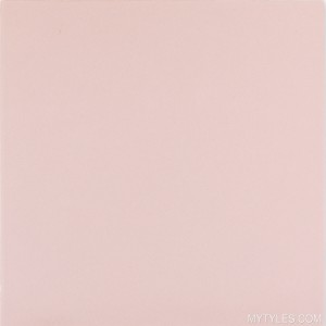 "Imported Floor and Wall Tile - Basic Rose - 11""x11"" Inch"