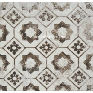 Imported Wall Tile Maioliche 10 Nera - 200x200 mm