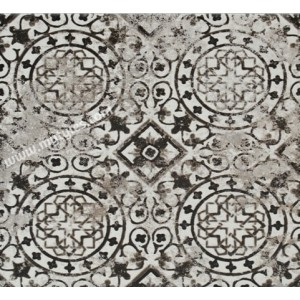 Imported Wall Tile Maioliche 9 Nera - 200x200 mm