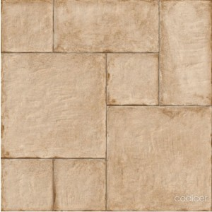 1000x1000 mm Imported Designer Wall and Floor Tile - Adobe Nimes Argile Modular