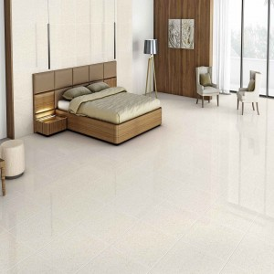* 600x600mm Double Charge Vitrified Tile - Platinum Biscuit