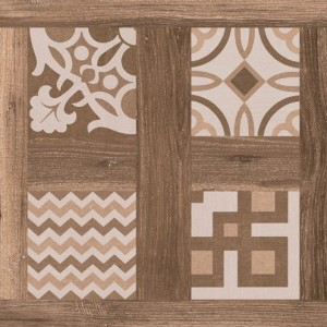 600x600 mm Imported Designer Floor and Wall Tile - Selandia Décor Ebano