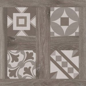 600x600 mm Imported Designer Floor and Wall Tile - Selandia Décor Fumo