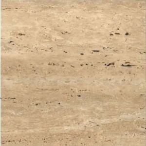 600X600MM Polished Glazed Vitrified Tiles - Traertino Gold