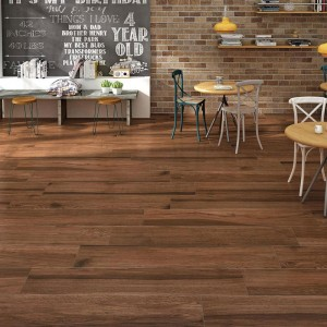 Nitco Wooden Strips 196x1200 mm - Wenge Oscuro