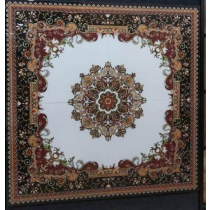 Rangoli Floor Tile 6002 - 600x600mm (4feetx4feet)